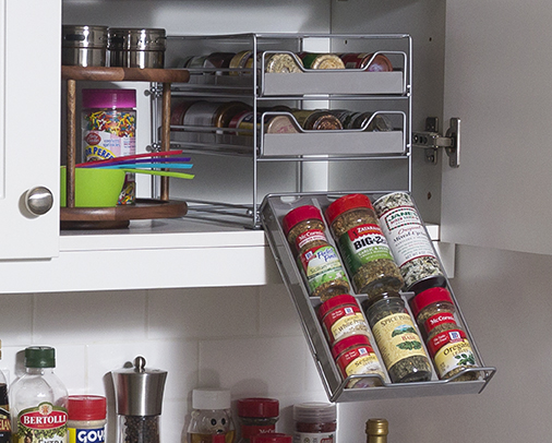 With These Compact Spice Storage Solutions, You Can Keep Your Spices  Organized And Easily Accessible, While Saving Valuable Counter And Cabinet  Storage ...