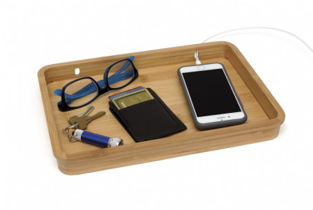 Bamboo Multipurpose Valet Tray