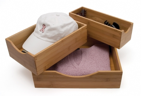 Bamboo Storage Boxes