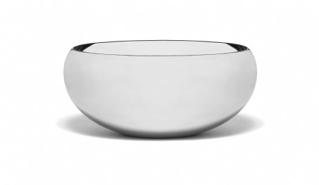 Seascape Stainless Steel Small Calabash Bowl 6.5""