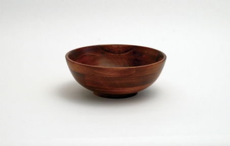 Cherry Finished Footed Bowls