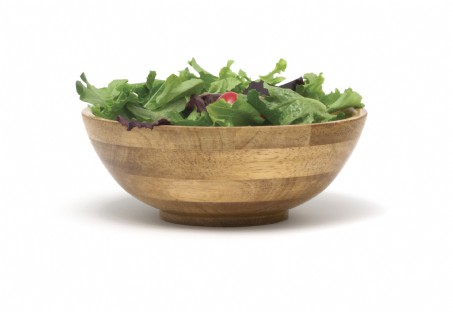 Oak Finished Salad Bowls