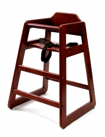 Child's High Chair, Cherry Finish