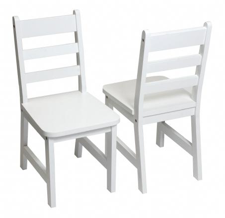 Childu0027s Chairs, Set Of 2, White
