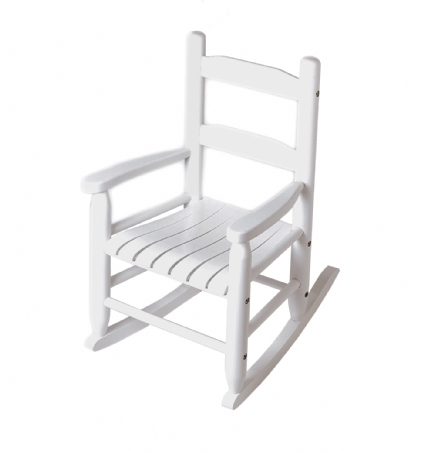 Childu0027s Rocking Chair   White
