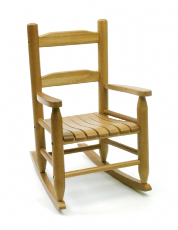 Child's Rocking Chair, Natural Finish