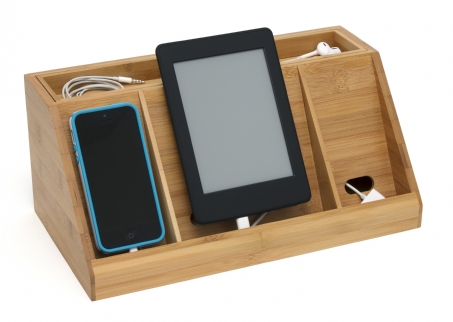 Bamboo Deluxe Charging Station