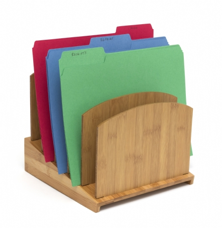 Bamboo Graduated File Holder