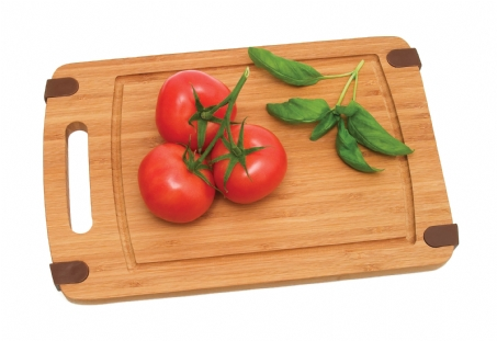 Bamboo Cutting Boards With Silicone Corners