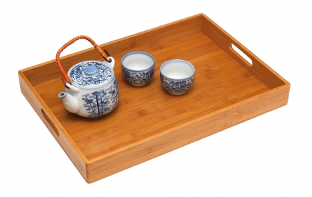 Solid Bamboo Tray