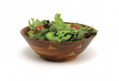 Acacia Footed Salad Bowls