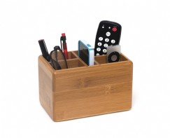 Bamboo Organization Caddy, 5 Compartments