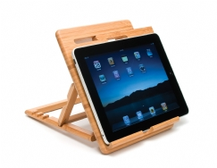 Bamboo Expandable iPad Stand