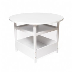 Child's Activity Table, White