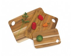 Teak Set of 3 Cutting Boards