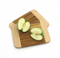 Teak Two Tone Cutting Boards
