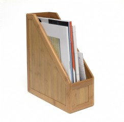 Bamboo Magazine Holder