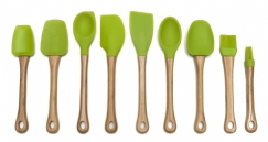 Bamboo & Silicone Tools, Green