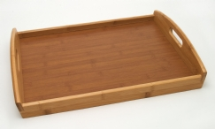 Bamboo Tray with Veneer Bottom