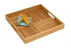 Bamboo Criss-Cross Serving Tray