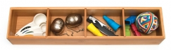 Bamboo 4-Part Drawer Organizer with Removable Dividers