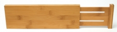 Bamboo Dresser Drawer Dividers, Set of 2