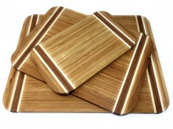 Bamboo Three-Tone Cutting Boards