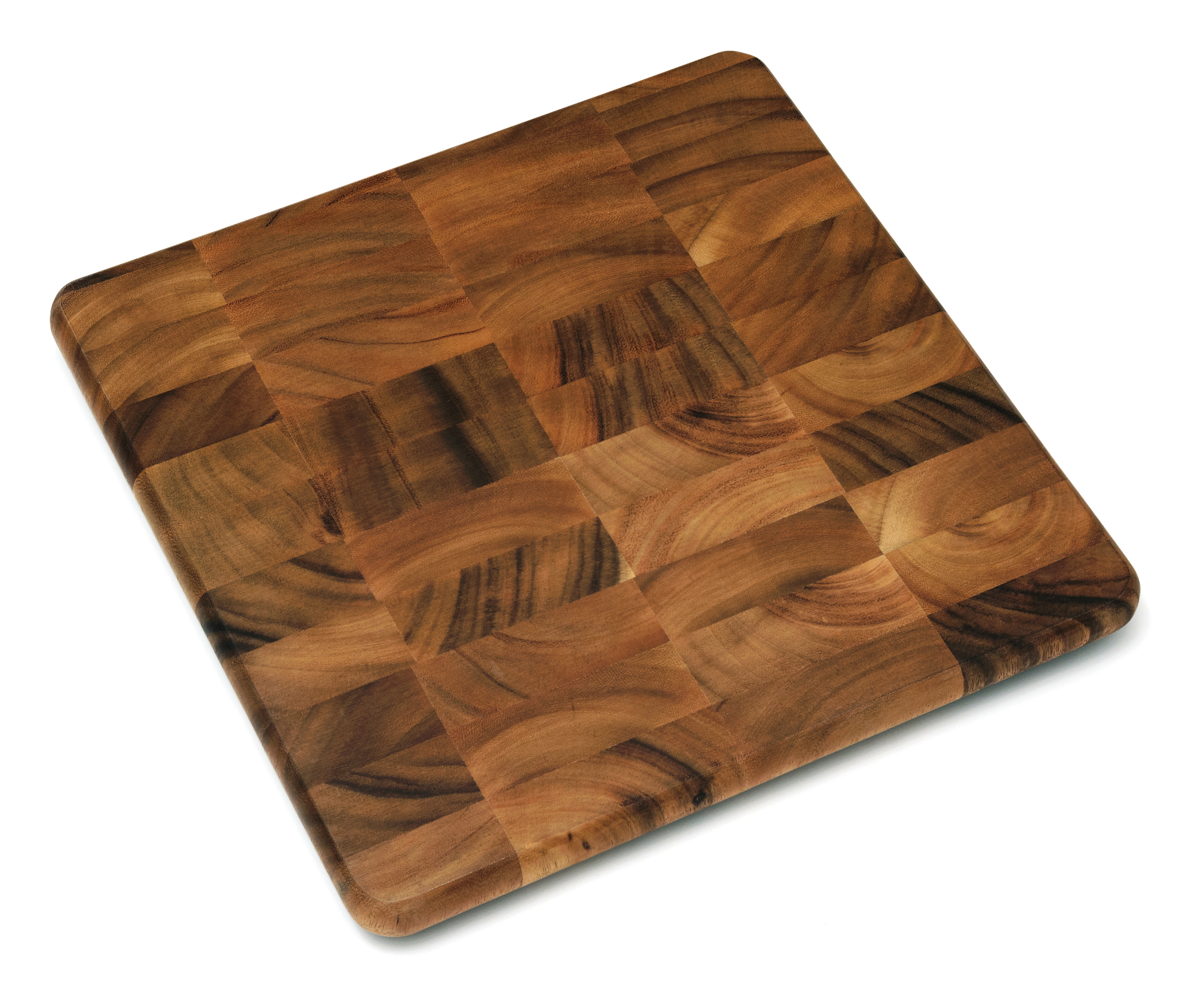 acacia square chopping block kitchen cutting table