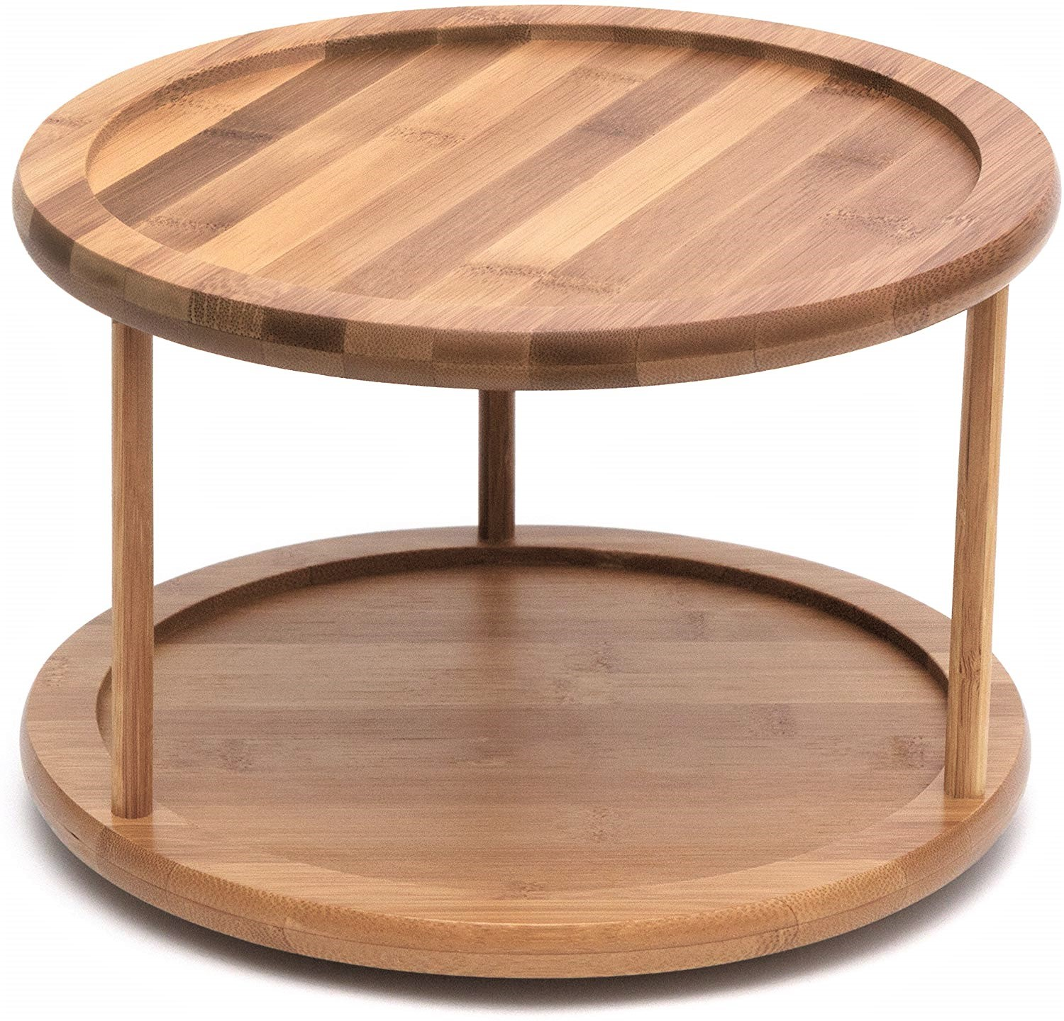 Bamboo Turntable 2 Tier