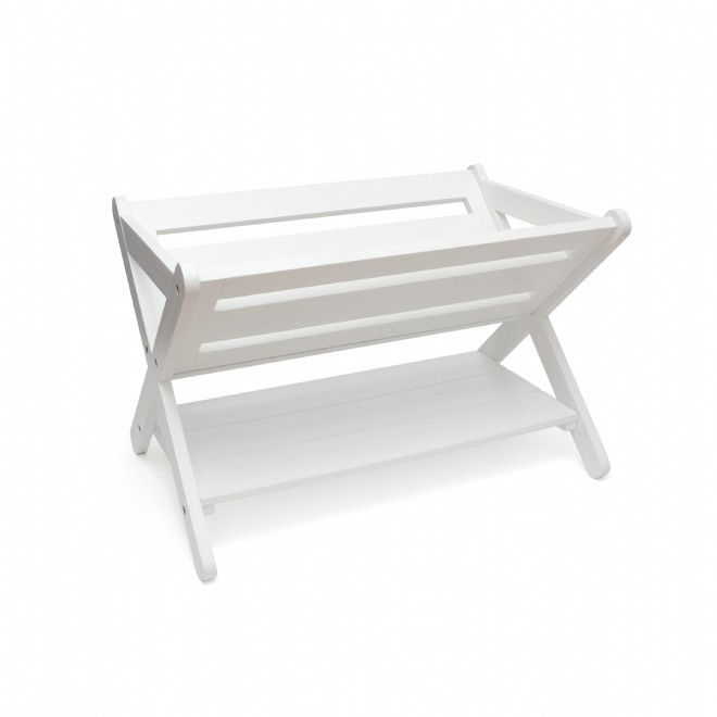 LIPPER 540W Wooden Storage Crate White